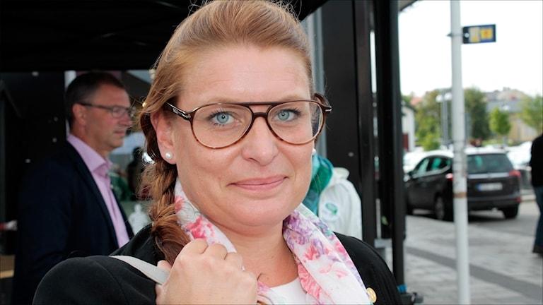 Linda Frohm (M) länsordförande i Norrbotten.