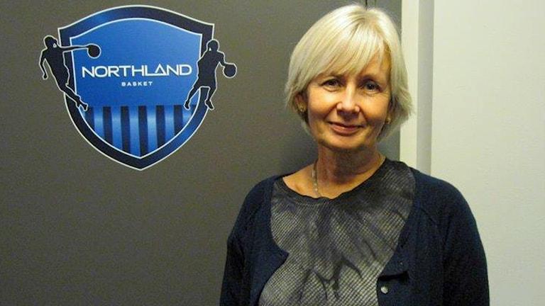 Britta Stoltz-Lundström. Foto: Peter Sundkvist/Sveriges Radio.