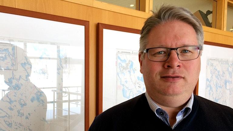 Henrik Vuorinen, vd på Luleå Hamn.