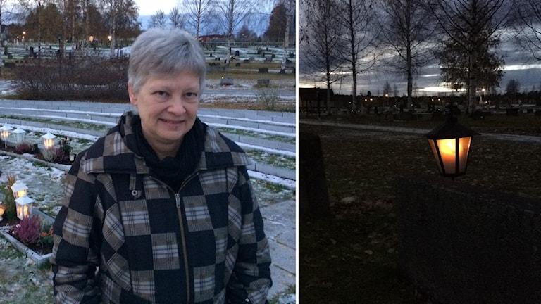 Åsa Sahba kyrkogårdschef