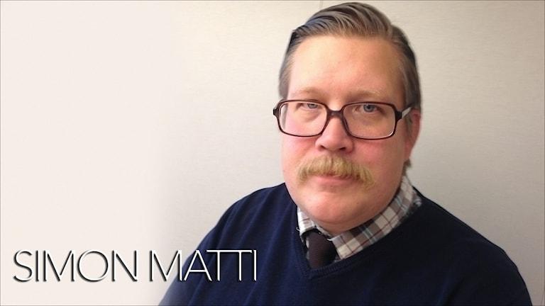 Simon Matti, statsvetare på LTU.
