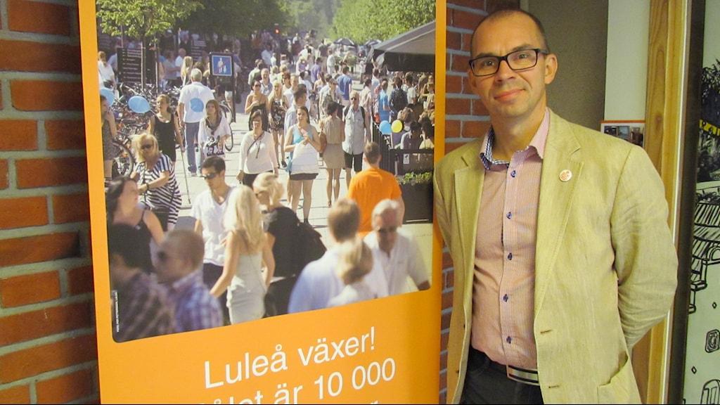 Niklas Nordström, kommunalråd (S) i Luleå.