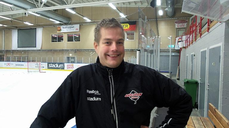Per Kenttä, sportchef i Asplöven.