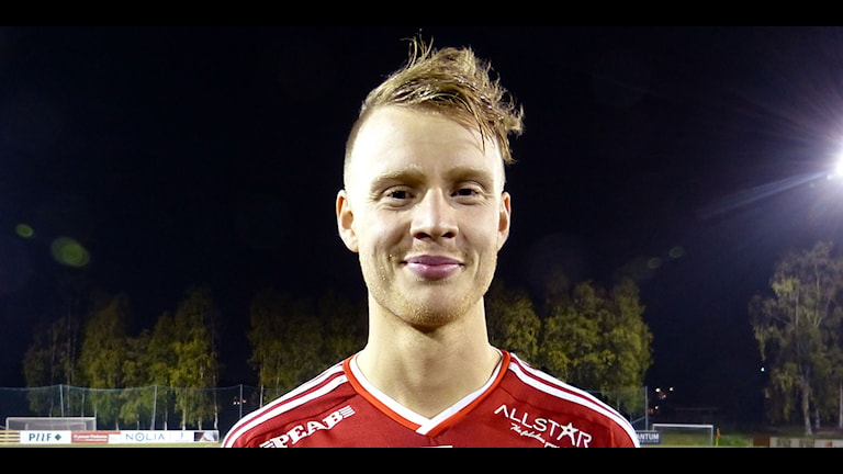 Piteås William Olausson. Foto: Niklas Ideström