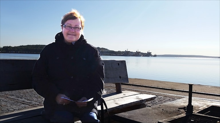Yvonne Stålnacke (S), kommunalråd i Luleå. Foto Carin Sjöblom/Sveriges Radio.