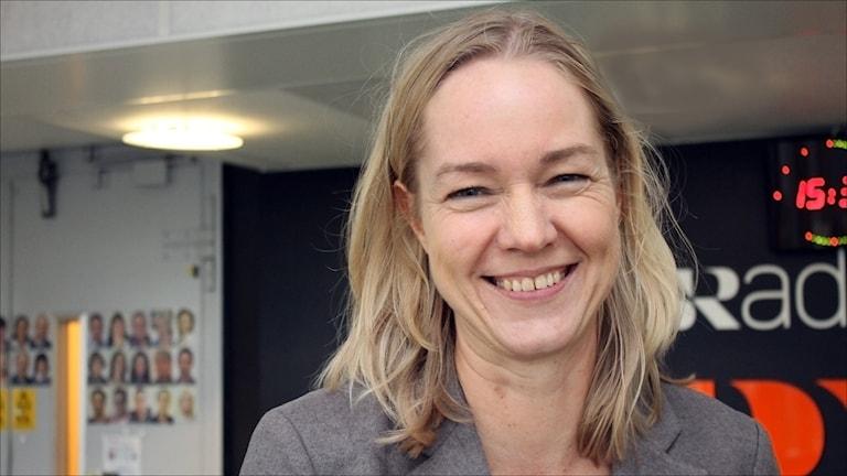 Cecilia Skingsley, vice riksbankschef. Foto Stig-Arne Nordström/Sveriges Radio.
