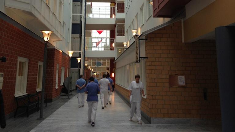 Sunderby sjukhus. Foto: Elina Perdahl/Sveriges Radio