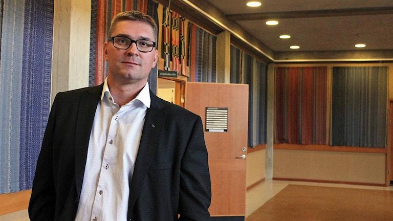 Stefan Sydberg, Moderaterna i Kiruna.