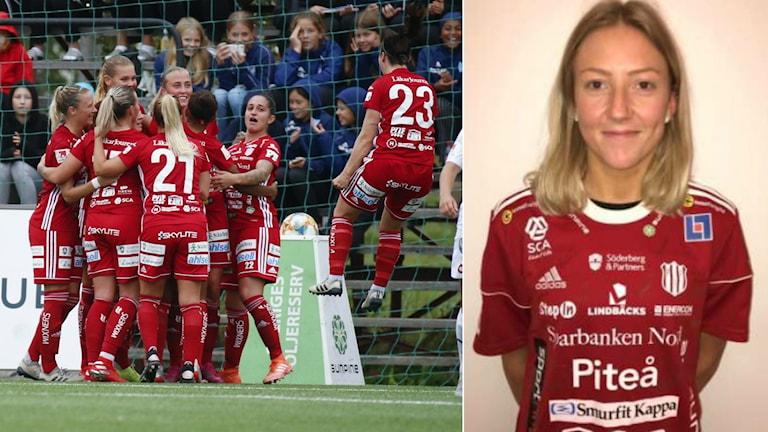 Cajsa Hedlund kommer att spela med Piteå den kommande säsongen.