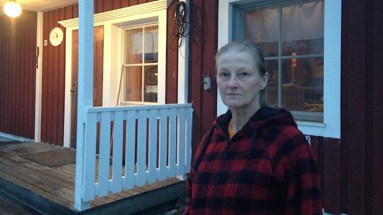 Entreprenören Kaisu Malmström i Muonionalusta