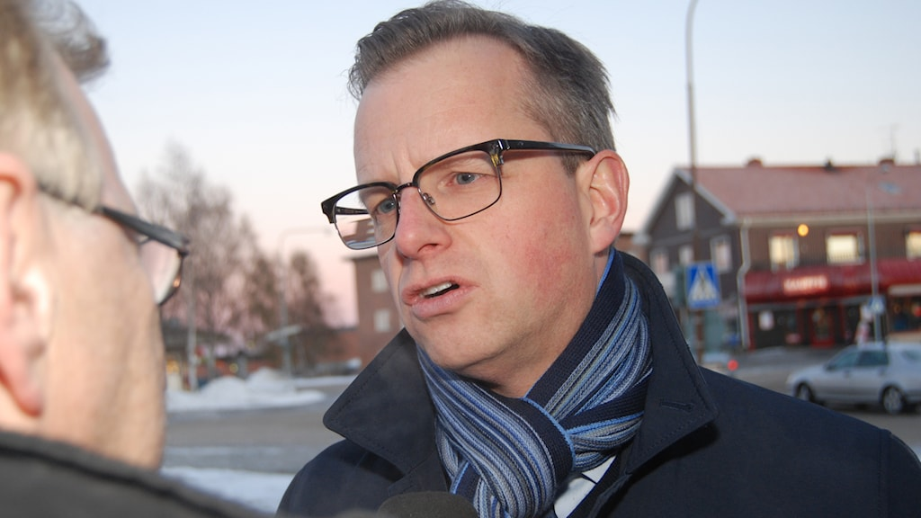 Näringsminister Mikael Damberg (S). Foto: Hans Oja/Sveriges Radio.