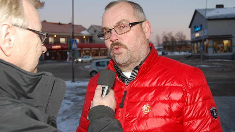 Harry Rantakyrö (S), kommunalråd i Pajala. Foto: Hans Oja/Sveriges Radio.