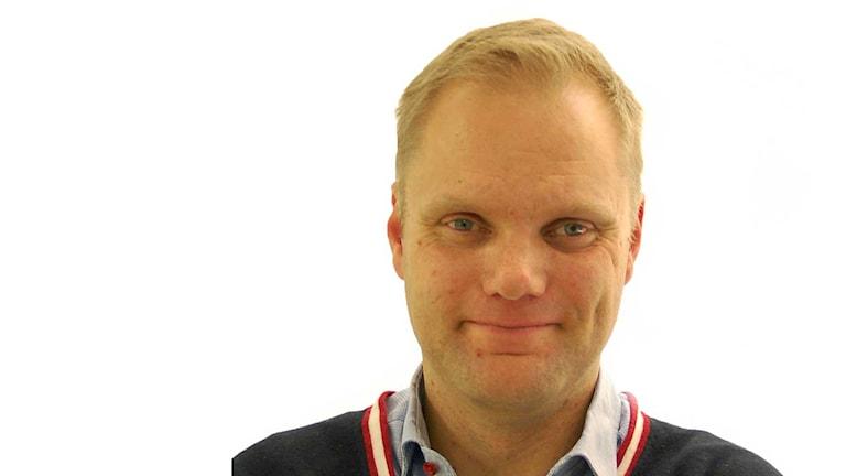 Stefan Berg, pressansvarig på Kammarkollegiet och Arvsfonden