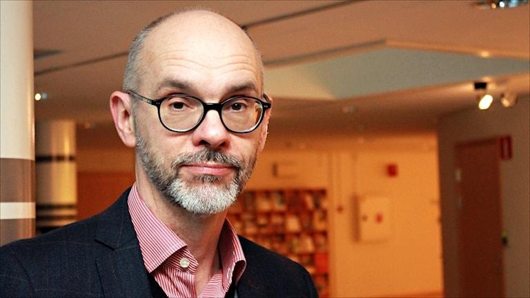 Mats Brännström, landstingsdirektör i Norrbotten. Foto Stig-Arne Nordström/Sveriges Radio.