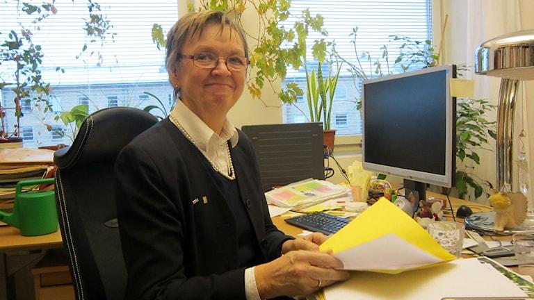 Gerd Bergman, verksamhetschef inom individ och familjeomsorgen i Luleå kommun