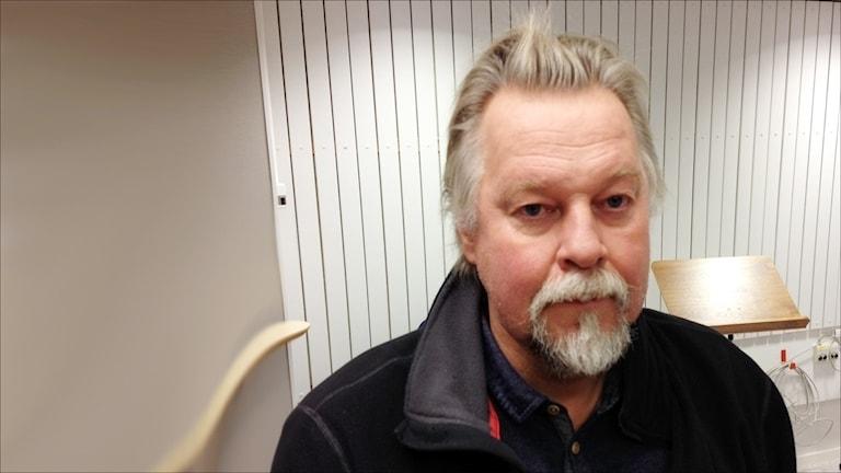 Mats Jakobsson, universitetslektor LTU. FotoTova Nilsson/Sveriges Radio.