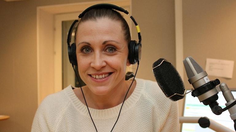 Anna Barthold, Northland basket. Foto: Lena Callne/Sveriges Radio.