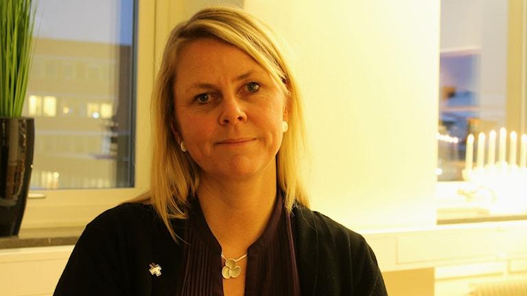 Erica Ohlsson är avdelningsordförande för Vårdförbundet i Norrbotten. Foto: David Ohlsson