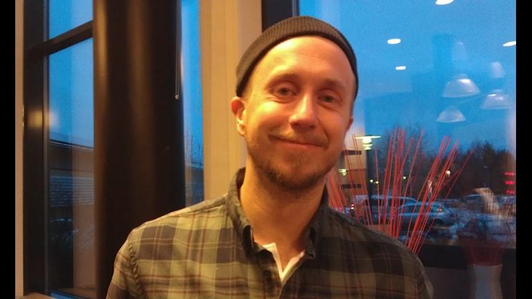 Fredrik Johansson. Foto:Ann-Christine Wallner-Hoppe/Sveriges Radio
