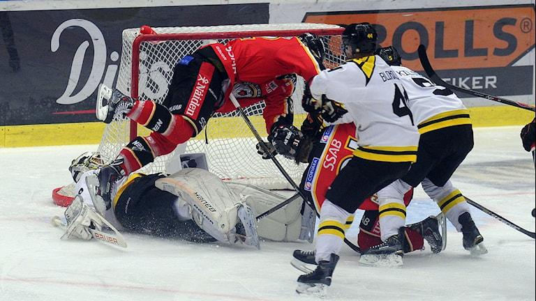 Luleå Hockey-Brynäs. Foto: Alf Lindbergh/Pressbilder.