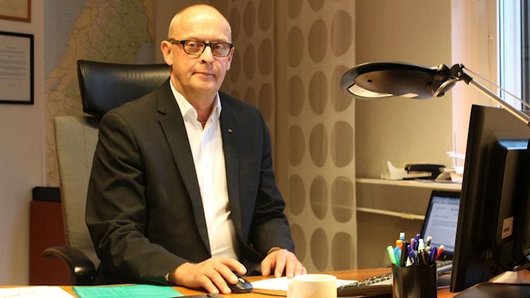 Göran Nilsson är marknadsområdeschef på Arbetsförmedlingen i Norra Norrland. Foto: David Ohlsson/Sveriges Radio