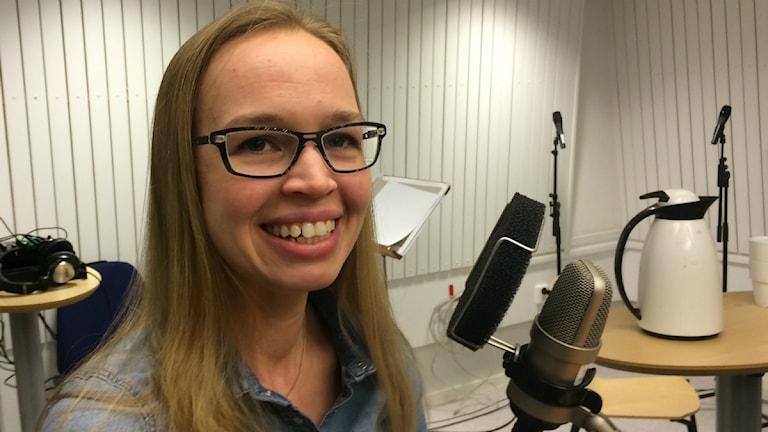 Sara Thorgren biträdande professor och docent på Luleå tekniska universitet. Foto: Anton Bennebrant/SR