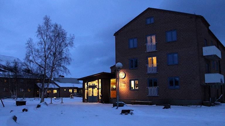 Abisko turiststation. Foto: Alexander Linder/ Sveriges Radio.