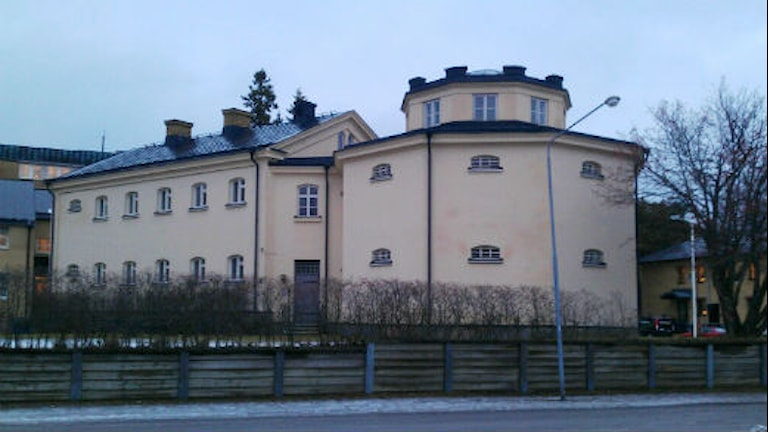 Det gamla fängelset Vita Duvan i Luleå. Foto: Ann-Christine Wallner-Hoppe/Sveriges Radio.