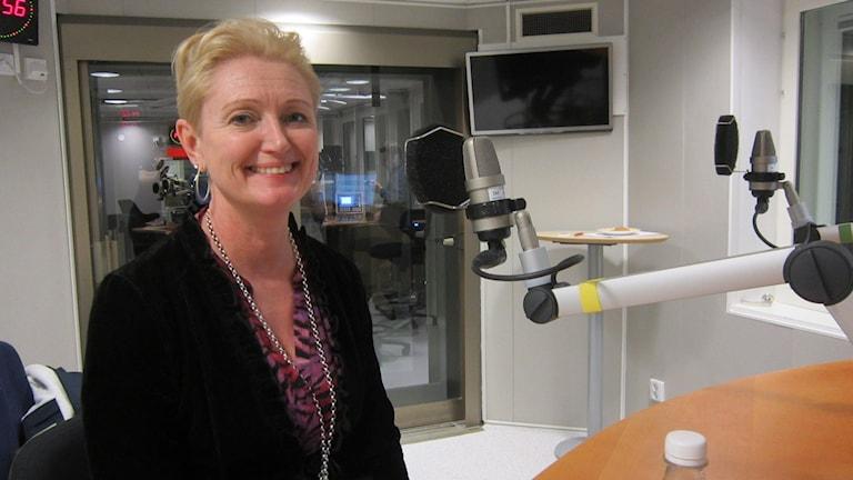 Kristina Nilsson, chef för Norrbottensmusiken. Foto: Hjalmar Lindberg/Sveriges Radio.