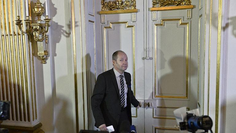 Peter Englund Svenska akademiens ständige sekreterare. Foto: Anders Wiklund/TT