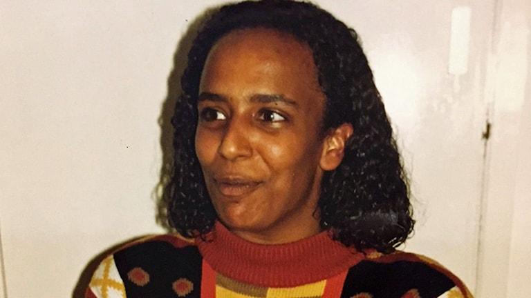 Maria Carlsson 1990. Foto: Privat.