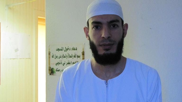 Mohamed Amri, imam och ordförande Islamiska föreningen i Luleå.