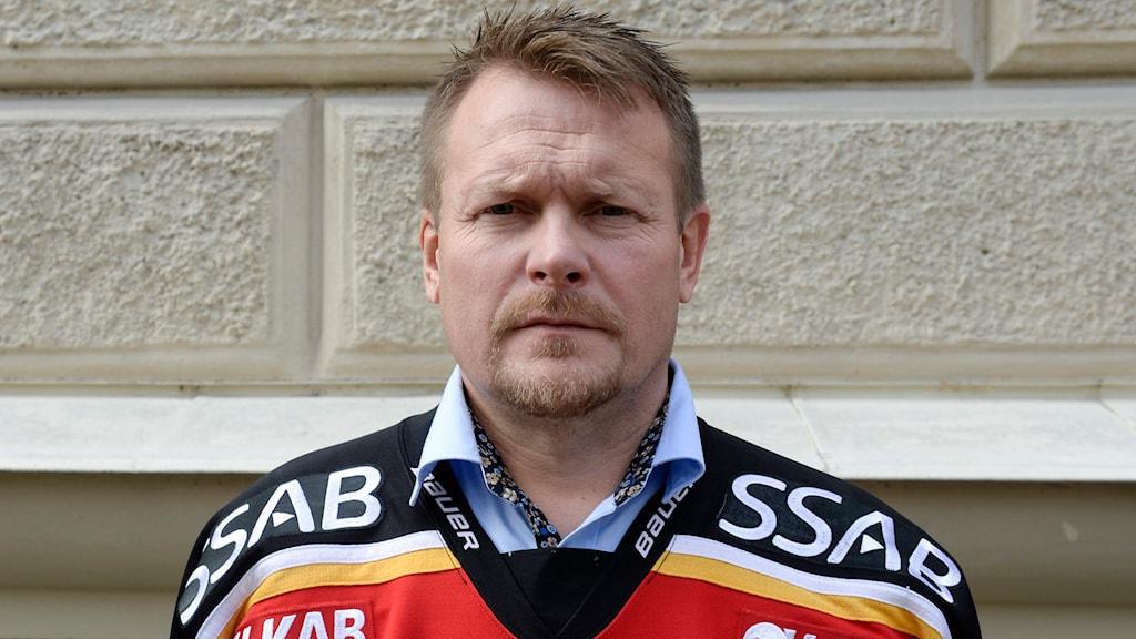 Joakim Fagervall, tränare för Luleå Hockey. Foto Bertil Ericson/TT