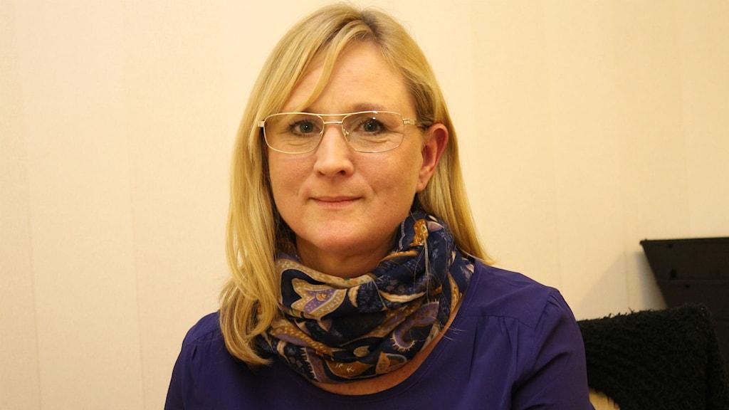 Lena Kruse, verksamhetschef Luleå kommun. Foto: Eleonor Norgren/Sveriges Radio