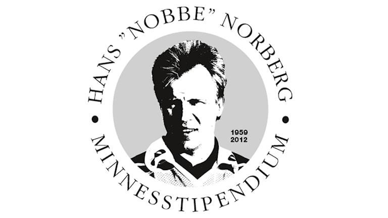 "Hans ""Nobbe"" Norbergs minnesstipendium logotyp"