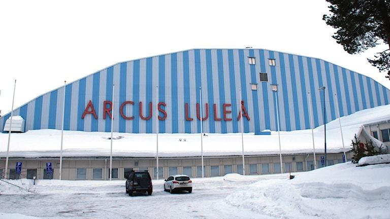 Arcushallen i Luleå. Foto: Hjalmar Lindberg/Sveriges Radio.