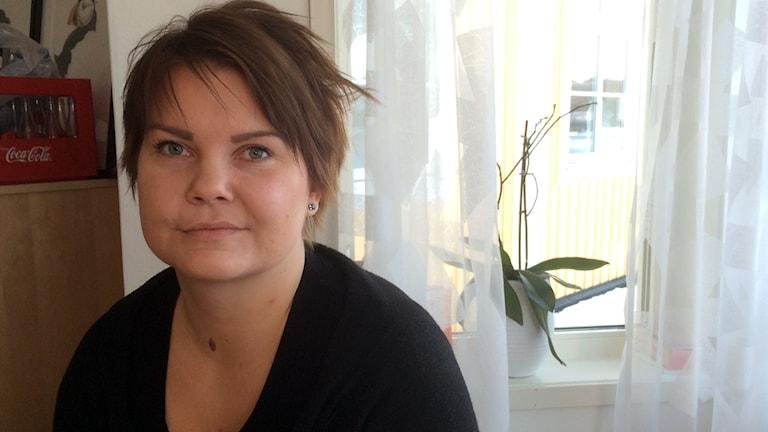 Sofia Flinkfeldt visade upp Silvermuseet i Arjeplog. Foto: Eva Elke/Sveriges Radio
