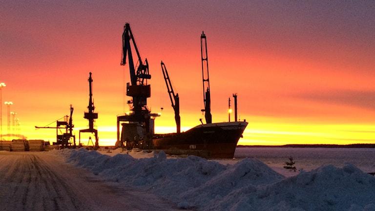 Lyssnarbild: Victoriahamnen i Luleå
