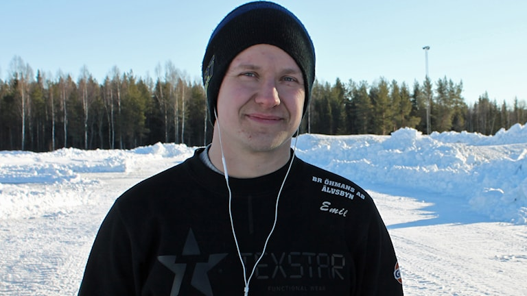 Emil Öhman. Foto: Marcus Nilsson/Sveriges Radio.
