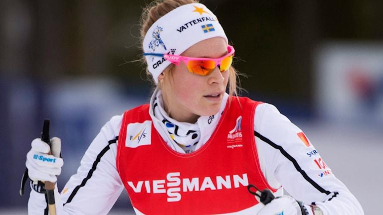 Jennie Öberg. Foto: Fredrik Sandberg/TT.