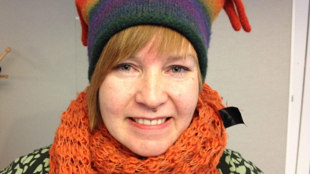 Katja Härkönen. Foto: Tova Nilsson/Sveriges Radio