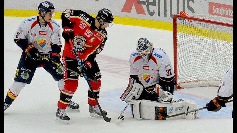 Johan Harju anfaller mot Djurgården