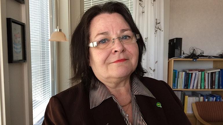Agneta Granström (MP), landstingsråd i Norrbottens läns landsting. Foto: Samed Salman/Sveriges Radio