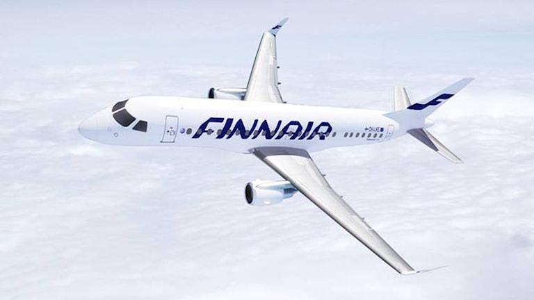 Flygplan från Finnair i luften. Foto: Finnair.