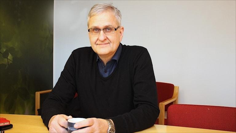 Herbert Nyman. Foto Stig-Arne Nordström/Sveriges Radio.