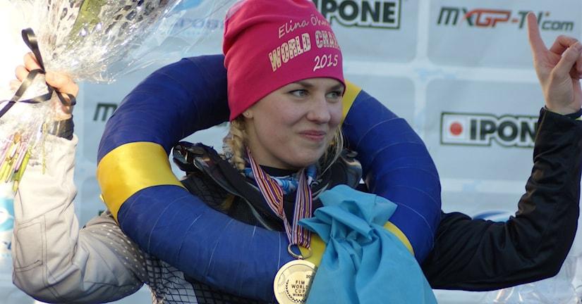 Elina Öhman vid prisutdelningen. Foto: Karin Edvinsson