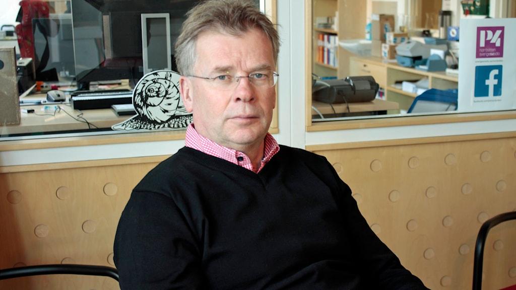 """Lars """"Osten"""" Bergström. Foto: André Pettersson/Sveriges Radio."""