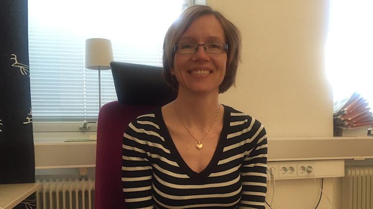 Marika Rissanen Korpi, socialchef Gällivare kommun Foto: Hanna Nutti/Sveriges Radio