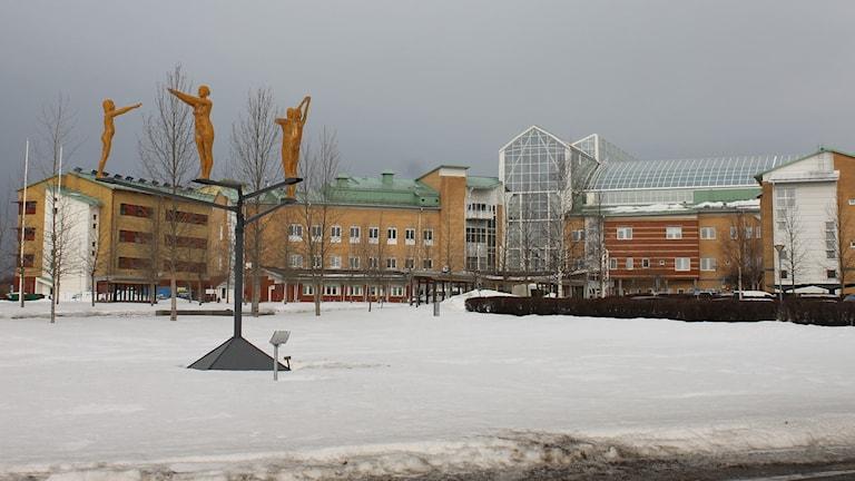 Sunderby sjukhus. Foto: Turi Wennberg/Sveriges Radio.