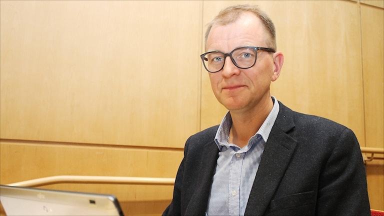 Jens Sundström. Foto Stig-Arne Nordström/Sveriges Radio.